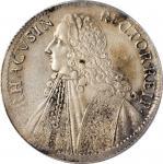 RAGUSA. Tallero, 1761-GB. PCGS Genuine--Cleaned, AU Details Gold Shield.