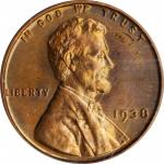 1938 Lincoln Cent. Proof-66 RB (PCGS). OGH.