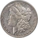 1893-S Morgan Silver Dollar. EF-40 (PCGS).