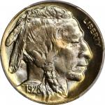 1928-D Buffalo Nickel. MS-66+ (PCGS).