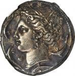 西西里德拉克马银币 NGC Ancients AU