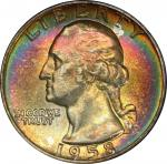 1958-D Washington Quarter. MS-67 (PCGS). CAC.