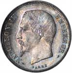 FRANCE. 50 Centimes, 1853-A. PCGS MS-66.