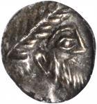 SYRIA. Phoenicia. Aradus, Uncertain King. AR Obol (0.68 gms), ca. 380-350 B.C. NGC AU, Strike: 5/5 S