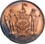 BRITISH NORTH BORNEO. Cent, 1884-H.