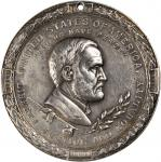 1871 Ulysses S. Grant Indian Peace Medal. The Only Size. Silver. 63.48 mm. 1,489.8 grains. Julian IP