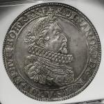 HOUSE OF HABSBURG Ferdinand II フェルディナンド2世(1619~37) Taler 1632KB NGC-AU55 EF