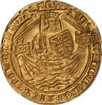 GREAT BRITAIN. Noble, Fourth Coinage. Treaty Period. ND (1361-69). Edward III (1327-77). PCGS MS-63