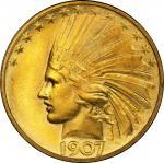 1907印第安鹰 PCGS MS 67