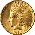 1910-S Indian Eagle. MS-63 (PCGS).