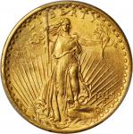 1915-S Saint-Gaudens Double Eagle. MS-63 (PCGS).