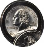 1999-P State Quarter. New Jersey--Double Struck Obverse Die Cap--MS-64 (NGC).