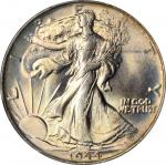 1944 Walking Liberty Half Dollar. MS-67+ (PCGS).