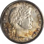 1908-D Barber Half Dollar. MS-64 (PCGS).