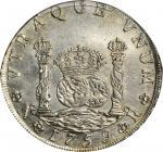 1759年哥伦比亚斐迪南六世8里亚尔 PCGS MS 62