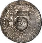 RUSSIA. Contemporary Counterfeit Yefimok, 1655. Alexei Mikhailovich (1645-76). PCGS VF-20.