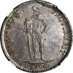 SWITZERLAND. Bern. Taler, 1796. NGC MS-64.