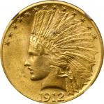 1912 Indian Eagle. MS-62 (NGC).