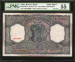 1960年印度储备银行10000卢比样票 PMG AU 55