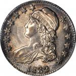 1832 Capped Bust Half Dollar. O-103. Rarity-1. Small Letters. MS-63 (PCGS).