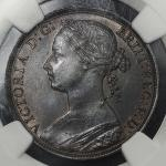 GREAT BRITAIN Victoria ヴィクトリア(1837~1901) Penny 1893 NGC-MS64BN UNC+