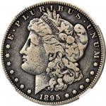 1895 Morgan Silver Dollar. Proof. Fine Details--Improperly Cleaned (NGC).