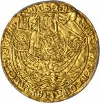 GREAT BRITAIN. Ryal or Rose Noble, ND (ca. 1465-66). London Mint. Edward IV, First Reign (1461-70).