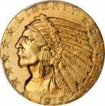 1915年印第安半鹰金币 PCGS MS 65