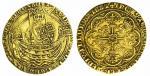 Edward III (1327-1377), Noble, Treaty Period, Treaty B1, struck AD 1361-1369, Tower, ED | WARD : DEI