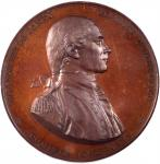 1779 (Post-1863) Captain John Paul Jones Naval Medal. U.S. Mint Copy Dies. Bronzed Copper. 57 mm. By