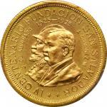 EL SALVADOR. 20 Colones, 1925-Mo. Mexico City Mint. PCGS MS-65 Gold Shield.