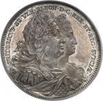SUÈDE Frédéric Ier (1720-1751). Riksdaler 1731 GZ, Stockholm.