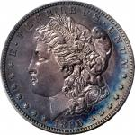 1896 Morgan Silver Dollar. Proof. Unc Details--Questionable Color (PCGS).