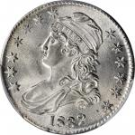 1832 Capped Bust Half Dollar. O-115. Rarity-1. Small Letters. MS-62 (PCGS).