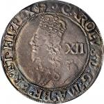 GREAT BRITAIN. Shilling, ND (1638-39). London Mint. Charles I. PCGS AU-50 Gold Shield.