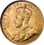 CANADA. 10 Dollars, 1914. Ottawa Mint. PCGS MS-65.