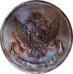 RUSSIA. Copper 5 Kopeks Novodel (Pattern), 1765-EM. Ekaterinburg Mint. Catherine II. NGC PROOF-66 Br