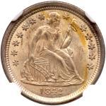 1842-O Liberty Seated Dime. NGC MS65