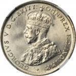 AUSTRALIA. Florin, 1924. Melbourne & Sydney Mint. NGC MS-66.