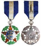 北洋政府一等二级警察奖章 优美