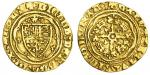 Richard II (1377-99), Quarter-Noble, type 4a, 1.61g, mm. cross patt馥, ricard dei gra rex angl , doub