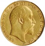 AUSTRALIA. 1/2 Sovereign, 1904-P. Perth Mint. PCGS AU-53 Gold Shield.