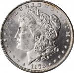 1878 Morgan Silver Dollar. 8 Tailfeathers. MS-66 (PCGS).