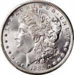 1885-CC Morgan Silver Dollar. MS-67 (PCGS).