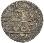 AWADH: Nasir-ud-Din Haidar, 1827-1837, AR frac14 rupee 402。75g41, Lucknow, AH1247 year 5, KM-201。1,
