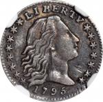 1795 Flowing Hair Half Dime. LM-8. Rarity-3. EF Details--Obverse Scratched (NGC).