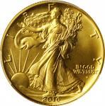 2016-W 100th Anniversary Walking Liberty Half Dollar. Gold. Specimen-70 (PCGS).