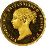 1839英国尤娜与狮子金币 PCGS Proof 62