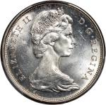 Canada, group of 7, consisting of: silver 50 cents, 1965, $1, 1935, 1936, 1939 (2), 1958 (British Co