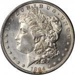 1894-S Morgan Silver Dollar. MS-63 (PCGS).